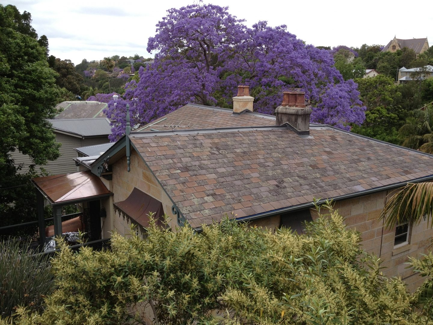 Heritage Roofing, Recycled Welsh Slate. Hunters Hill