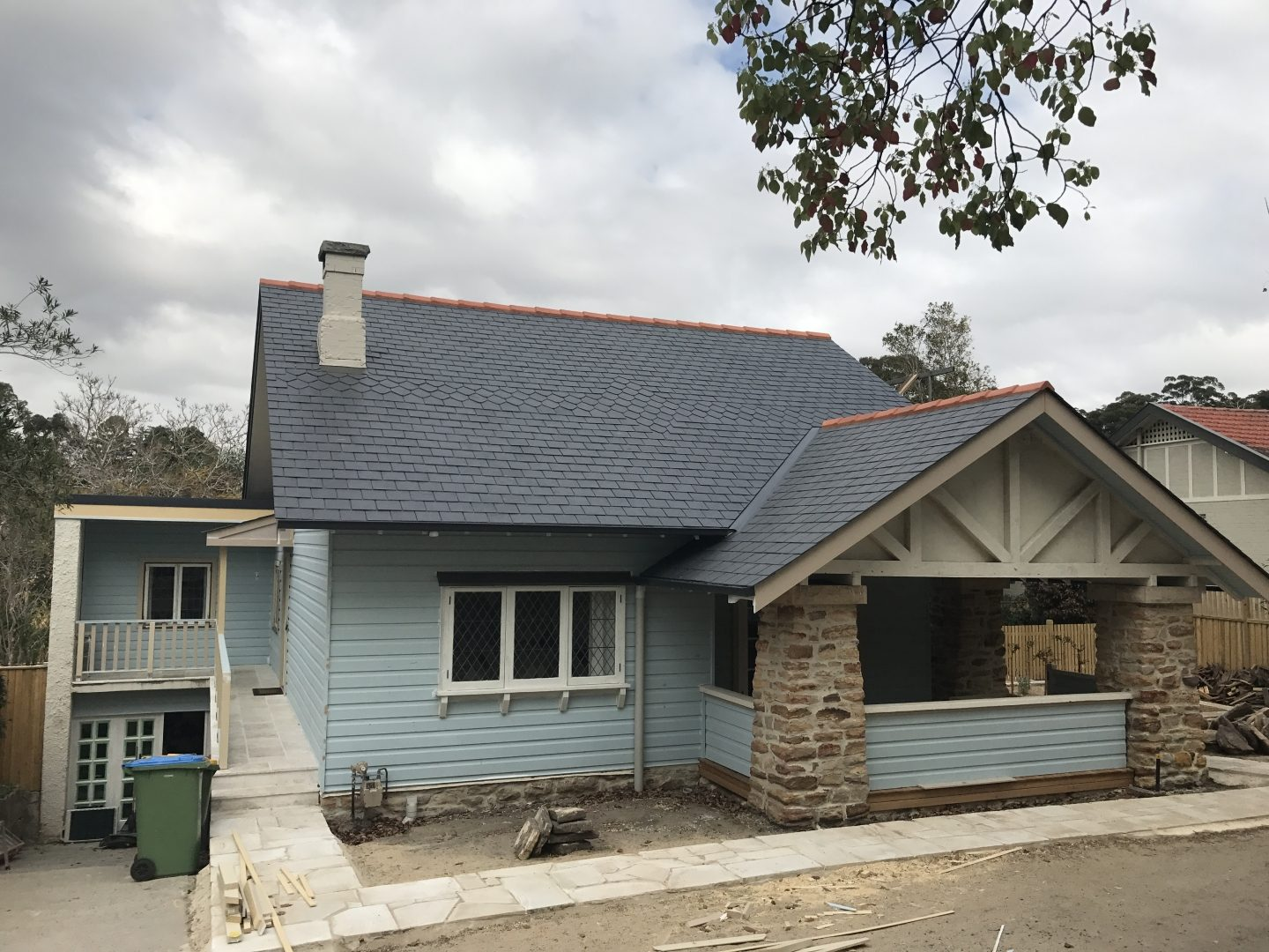 New Slate Roof. Killara, Sydney