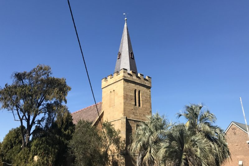 Heritage Slate Roof. St Thomas Church. Enfield Sydney NSW